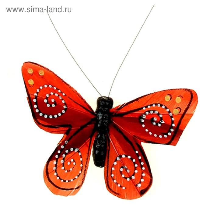 "Магнит ""Бабочка спиралька"" МИКС"