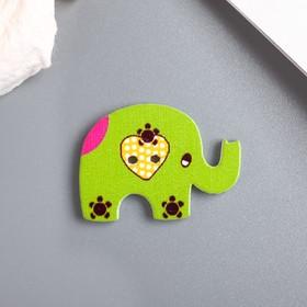 "A set of buttons decorative ""Elephants"" 12 PCs"