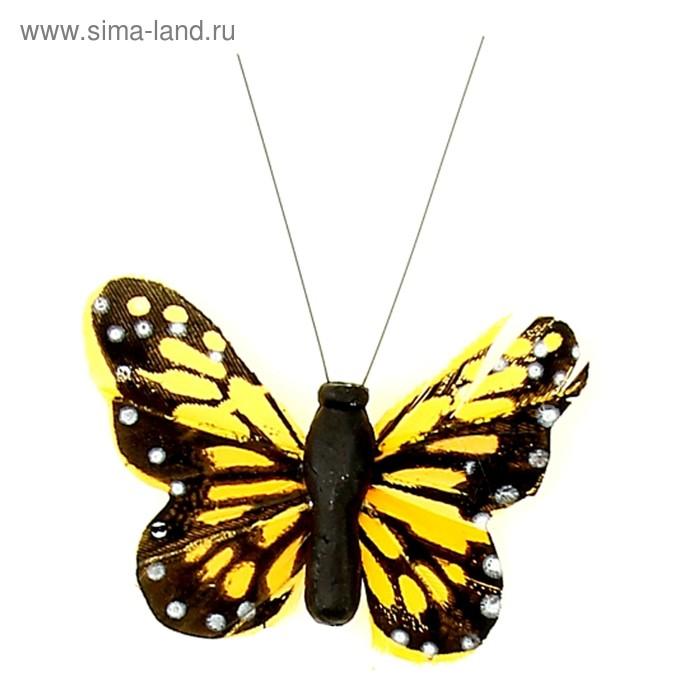 "Магнит ""Бабочка Пестрянка"" МИКС"