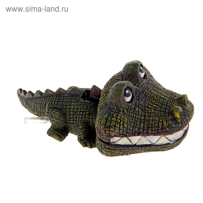 Распылитель Крокодильчик, 13 х 7 х 5 см, полистоун