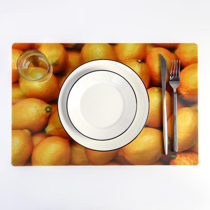 "Салфетка кухонная Real 3D ""Лимоны"" 42х28 см"