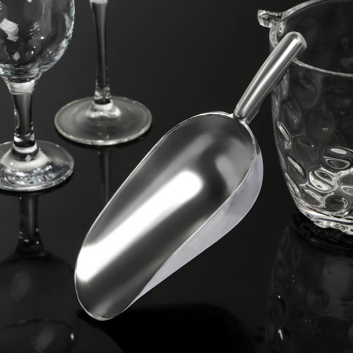 Совок алюминиевый, 21 см - фото 647275