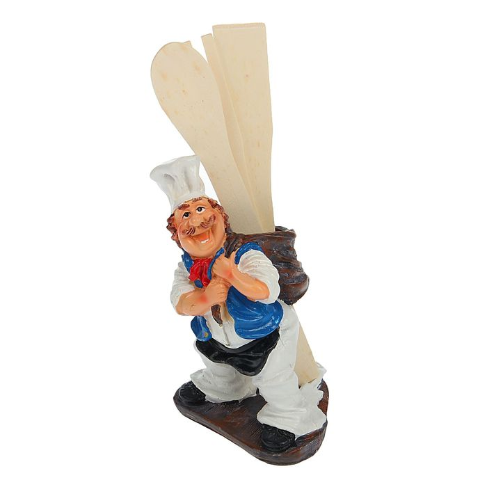 """Подстака для кухонных принадлежностей """"Работящий повар"""", цвет МИКС"""