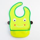 Нагрудник с карманом «Лягушка» из клеёнки, на кнопках - фото 105449276