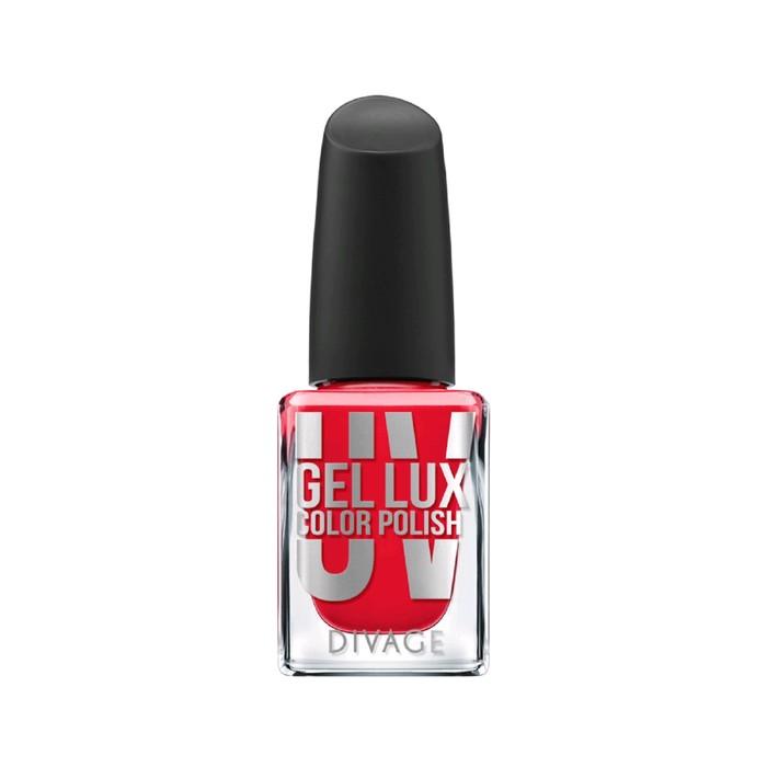 Лак для ногтей Divage, Uv gel lux, цвет № 06