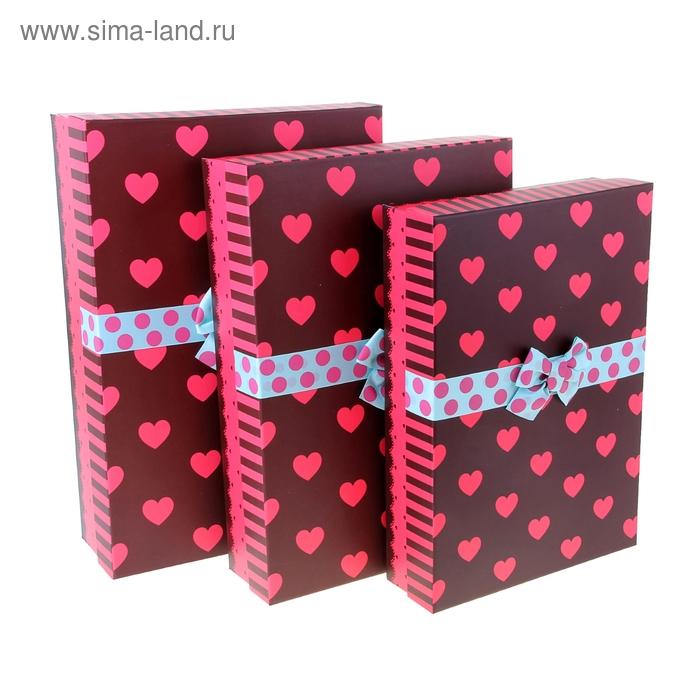 """Набор коробок 3в1 """"Мгновение любви"""""""