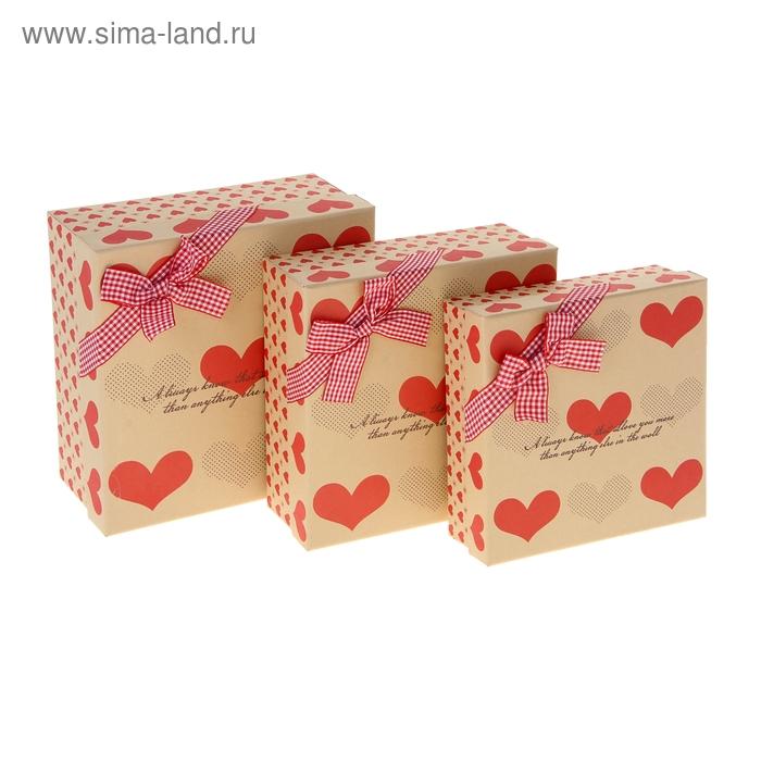 """Набор коробок 3в1 """"Любовное послание"""""""