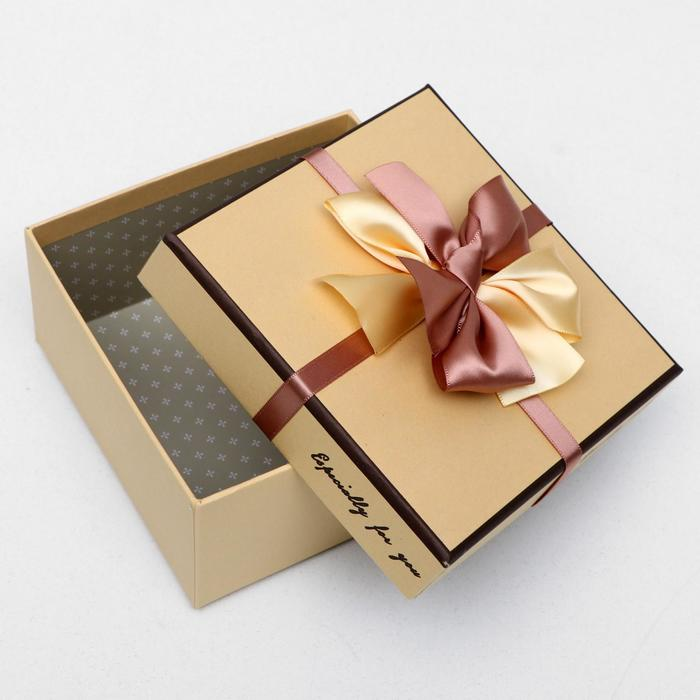 """Набор коробок 4в1 """"Специально для тебя"""", 26,5 х 26,5 х 12 - 15 х 15 х 7,5 см"""