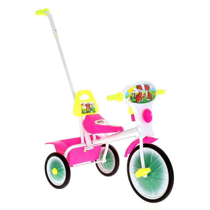 """Велосипед трехколесный """"Малыш"""", цвет: розовый"""