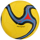 Pass a soccer ball, 32 panel, PVC with 2 sublayers, machine stitching, size 5