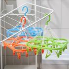 Сушилка для белья подвесная, 20 прищепок, цвет МИКС - фото 4634967