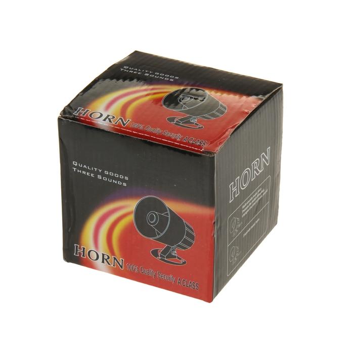 Звуковой сигнал Horn, сирена  12 В, 30 Вт