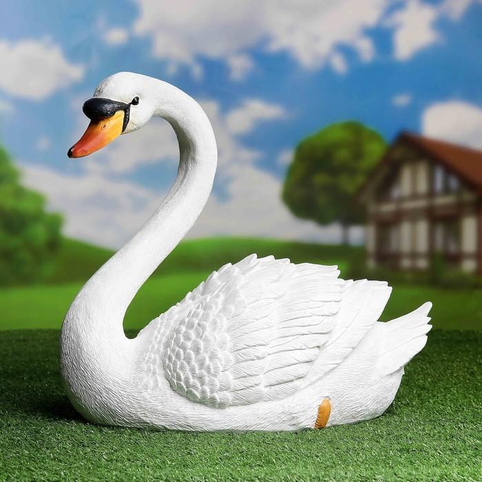 """Садовая фигура """"Лебедь"""" большая"""