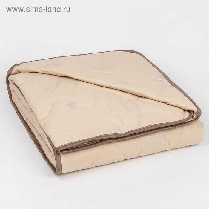 """Одеяло облегчённое Адамас """"Овечья шерсть"""", размер 200х220 ± 5 см, 200гр/м2, чехол тик"""