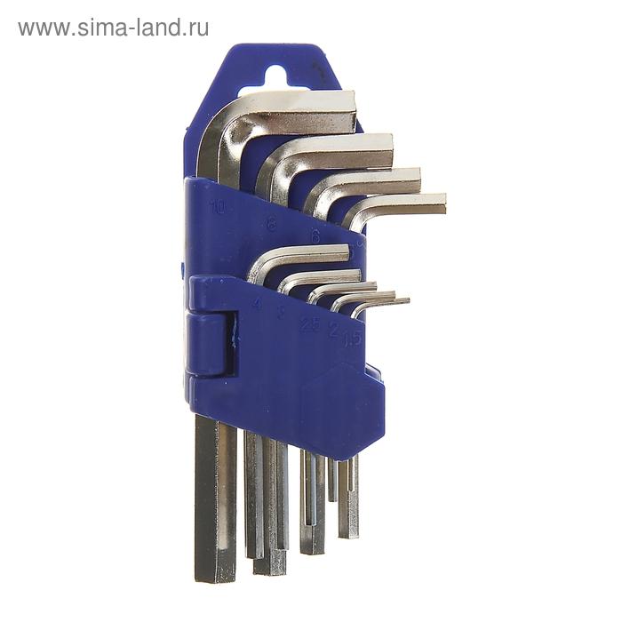 Набор ключей шестигранников TUNDRA comfort, 1.5 - 10 мм 9 штук