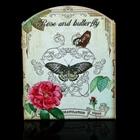 Роза и бабочки
