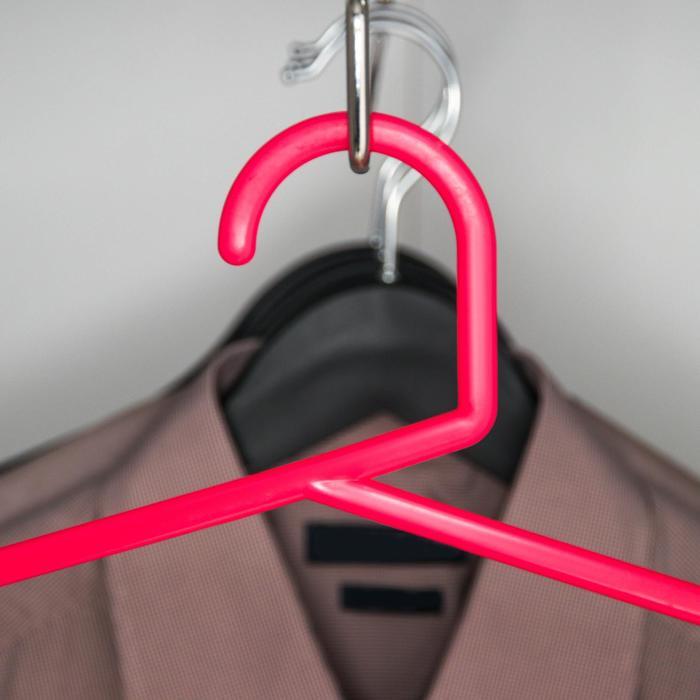 Вешалка для брюк и юбок пятиуровневая, цвет МИКС