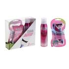 Подарочный набор Schick для женщин: одноразовые станки Xtreme 3 Beauty, мусс для бритья, 150 мл