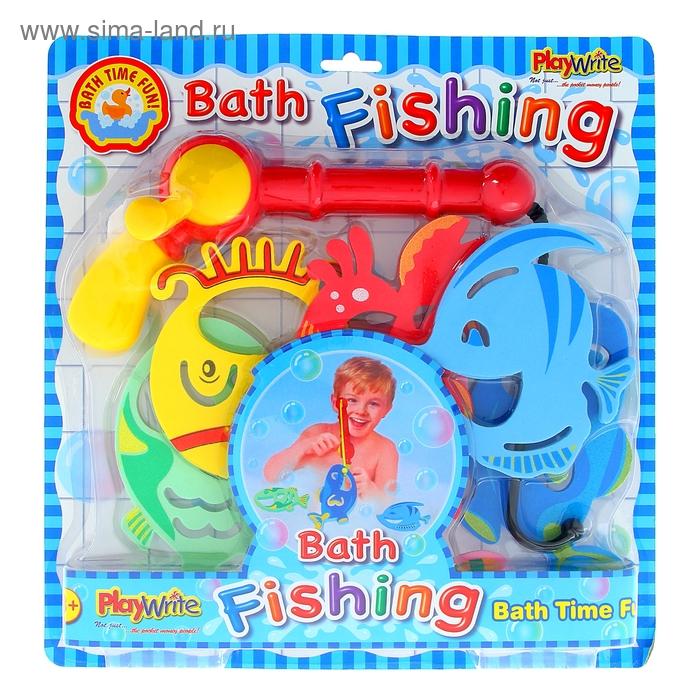 """Рыбалка """"Большие рыбки-2"""", с удочкой, 5 рыбок"""