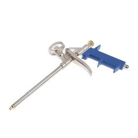 Пистолет для монтажной пены TUNDRA, металлический корпус Ош