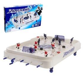 Игра настольная «Хоккей», объёмные игроки, размер игрового поля 70 × 42 см
