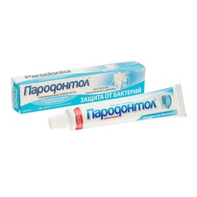 """Зубная паста """"Пародонтол"""" антибактериальная защита, в тубе, 66 г"""