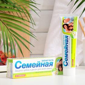Зубная паста «Семейная» с экстрактами ромашки и тысячелистника
