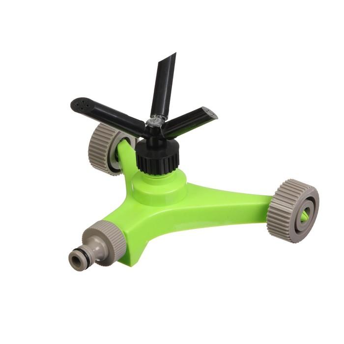 Распылитель 3-лепестковый, под коннектор, на колёсах, ABS пластик