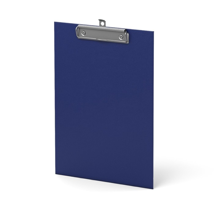Планшет с зажимом А4 Erich Krause Standard синий, картон 2мм
