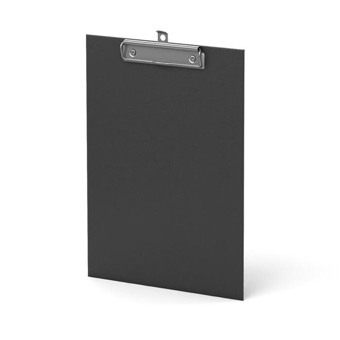 Планшет с зажимом А4 Erich Krause Standard черный, картон 2мм