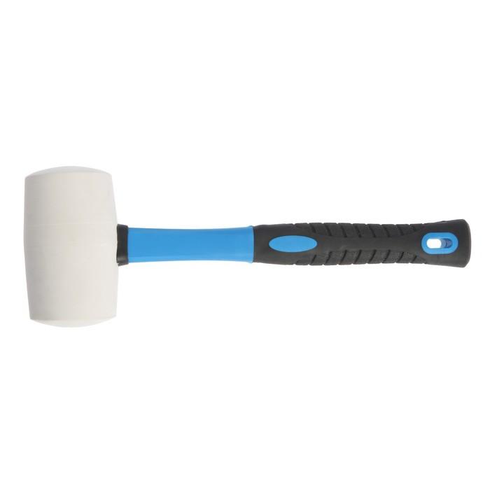 "Киянка ""TUNDRA premium"" фибергласовая рукоятка, белая резина 750г"