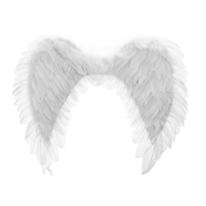 Крылья ангела 48*63, цвет белый