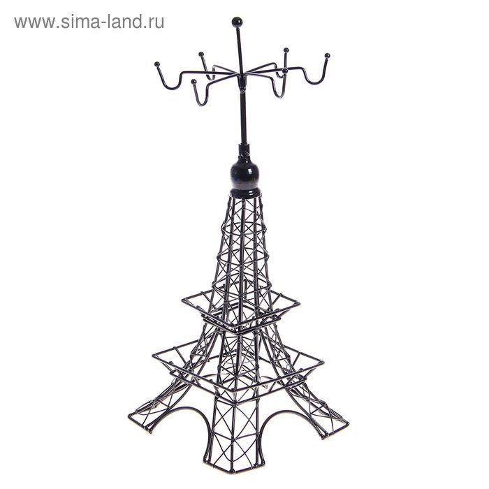 """Подставка для украшений """"Башня"""", цвет черный"""