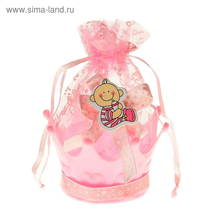 """Бонбоньерка """"Малыш"""", цвет розовый"""