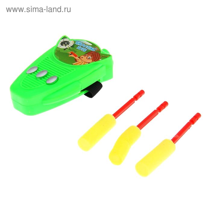 Браслет «Стрелок», стреляет мягкими пулями, цвета МИКС