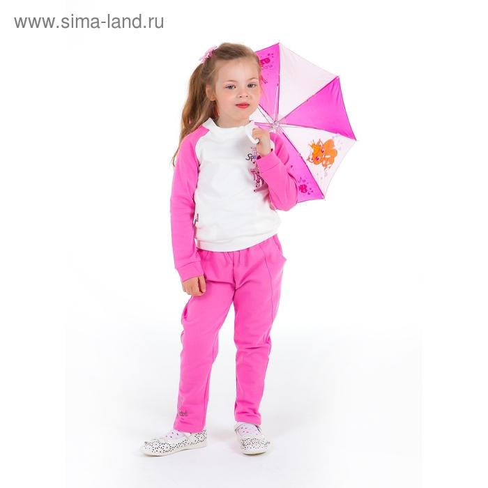 """Комплект для девочки """"Спортивная девчонка"""": кофта, штанишки, рост 110-116 см (5-6л.), цвет микс 9199CC1689"""