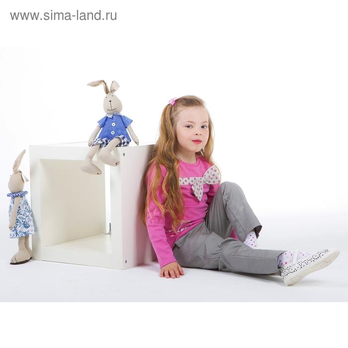 Комплект для девочки: кофта с бантом в горошек, штанишки, рост 98-104 см (3-4г.), цвет микс 9199CC1659