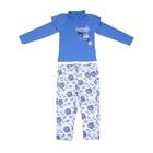 """Комплект для девочки """"Весенний букет"""": кофта, штанишки, рост 110-116 см (5-6л.) 9199CC1573"""