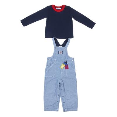 Комплект для мальчика: кофта, комбинезон 1A28NG0179 3-6 м (рост 62-68 см)