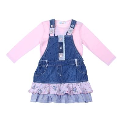 Комплект для девочки: боди, сарафан 9122IG0379 18-24 м (рост 86-92 см)