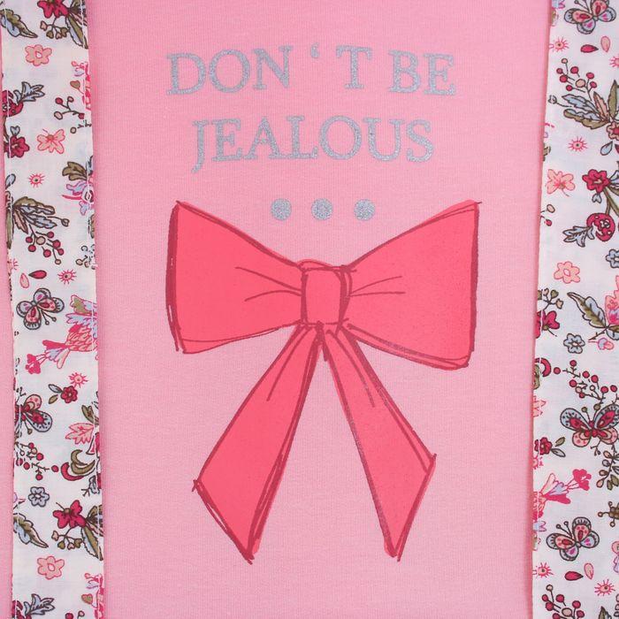 """Платье для девочки """"Не завидуй"""", рост 92-98 см (18-24 мес.), цвет розовый 9077IF1442"""