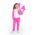"""Комплект для девочки """"Спортивная девчонка"""": кофта, штанишки, рост 98-104 см (3-4г.), цвет микс 9199CC1689"""