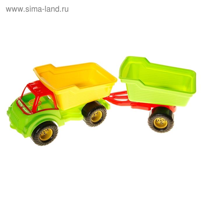 """Автомобиль-самосвал """"Гигант"""" с прицепом"""