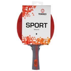 Ракетка для настольного тенниса Torres Sport, 1 звезда, для любителей