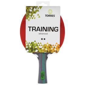 Ракетка для настольного тенниса Torres Training, 2 звезды, накладка 1,5 мм, коническая ручка