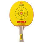 Ракетка для настольного тенниса Torres Control, для начинающих, накладка 1,8 мм, коническая ручка