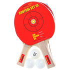 Набор для настольного тенниса Torres Control 10, 2 ракетки, 3 мяча, сетка, накладка 1,5 мм