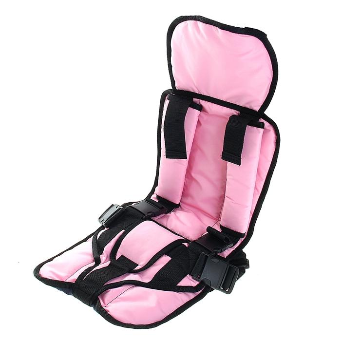 Детское удерживающее устройство «Стандарт», группа 3, цвет розовый