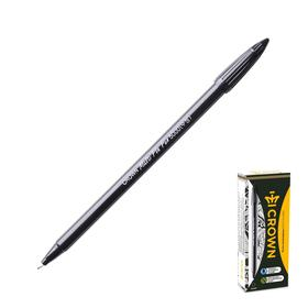 Ручка капиллярная Crown СМР-5000 чёрная, пластиковый пишущий узел