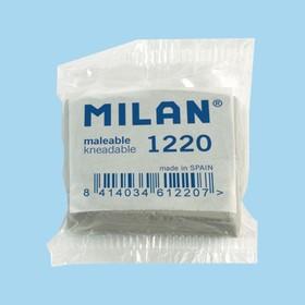 Ластик-клячка Milan 1220, 37 х 32 х 10 мм